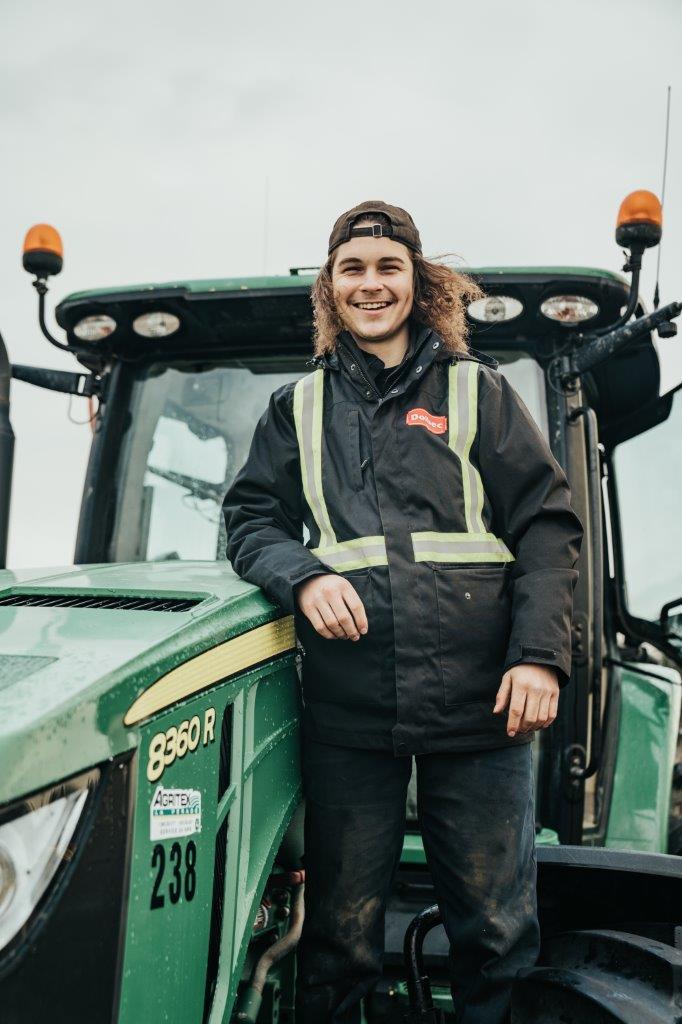 Thierry - opérateur agricole